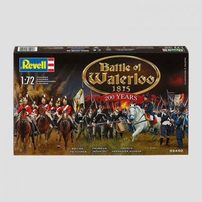 128 figurines Revell 1/72 - Bataille de Waterloo 1815 - référence: 02450