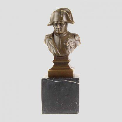 Statue en bronze de l'empereur Napoléon Ier