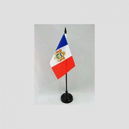 Drapeau pour décoré une table - Motif France orné des armoiries du Premier Empire