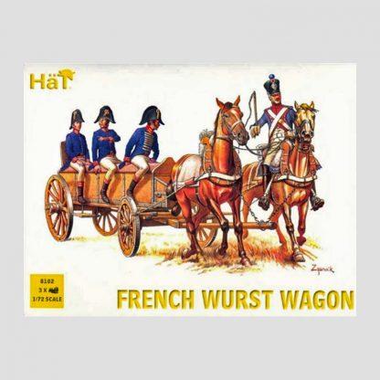 Ambulance légère française, guerres napoléoniennes - Hät 8102