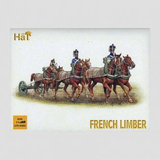 Attelages à six chevaux, armée française, guerres napoléoniennes - Hät 8105