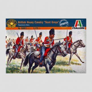 "Cavalerie lourde anglaise ""Scot Greys"", guerres napoléoniennes, 1815 - Italeri 6001"