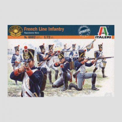 Figurines Infanterie de ligne française - Italeri 6002