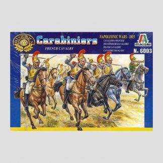 Carabiniers français, guerres napoléoniennes, 1815 - Italeri 6003