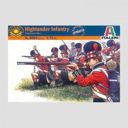 Grenadiers de l'infanterie écossaise, guerres napoléoniennes - Italeri 6004