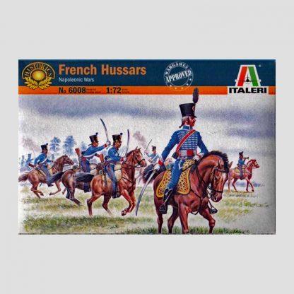 Figurines 1er régiment de hussards, guerres napoléoniennes - Italeri 6008