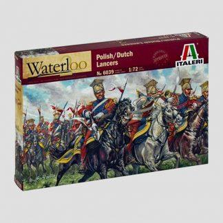 Lanciers polonais-hollandais, guerres napoléoniennes, 1815 - Italeri 6039
