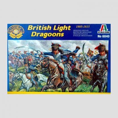 Dragons anglais, guerres napoléoniennes, 1805-1815 - Italeri 6040