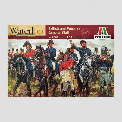 Quartier général des coalisés, anglais et prussiens, 1815 - Italeri 6065