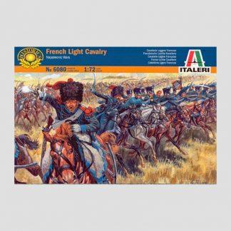 Figurines Cavalerie légère française, guerres napoléoniennes - Italeri 6080