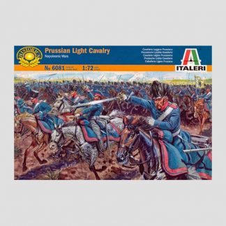Cavalerie légère prussienne, guerres napoléoniennes, 1815 - Italeri 6081