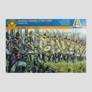 Infanterie autrichienne, 1798-1805, guerres napoléoniennes - Italeri 6093