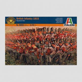 Infanterie britannique, guerres napoléoniennes, 1815 - Italeri 6095