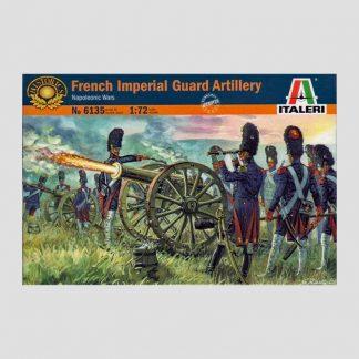 Figurines 1/72 Italeri 6135 - Artillerie à pied de la Garde Impériale