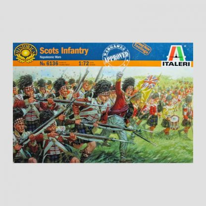 Infanterie écossaise, guerres napoléoniennes - Italeri 6136