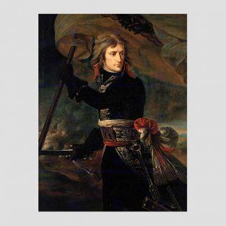 """Poster 45 x 34 cm reproduction du tableau de Gros """"Bonaparte au pont d'Arcole"""""""
