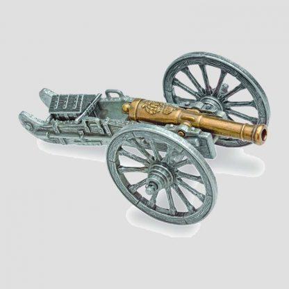 Réplique miniature d'un canon français de l'époque napoléonienne