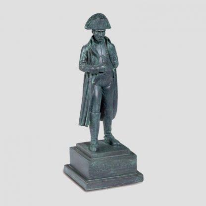 Satuette de l'empereur Napoléon 1er en résine coloris bronze