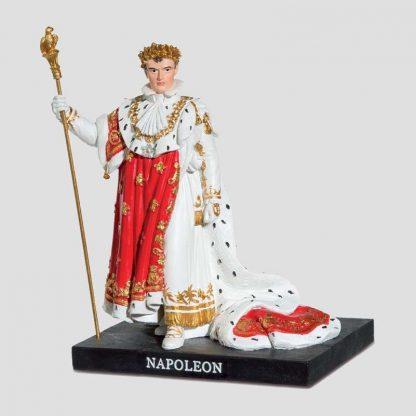 Statuette en résine Napoléon 1er en tenue de sacre
