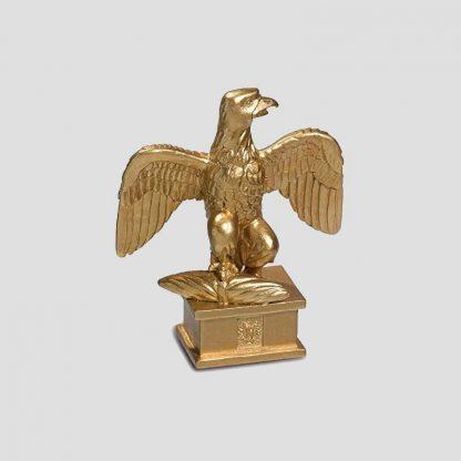 Statuette résine de 15 cm de hauteur représentant une aigle impériale du Premier Empire