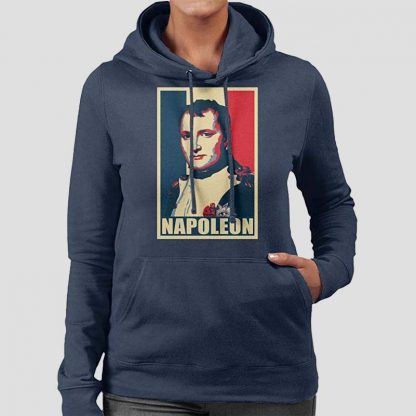 Sweatshirt à capuche pour femme avec motif Napoléon