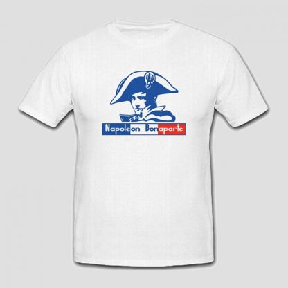 T-shirt blanc Napoléon Bonaparte