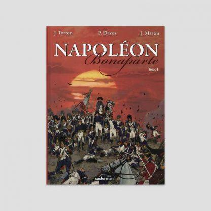 BD Napoléon Bonaparte - Tome IV - Jean Torton et Pascal Davoz