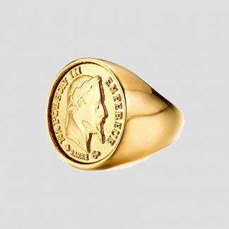 Chevalière Bague Napoléon III - Marque : BOBIJOO Jewelry