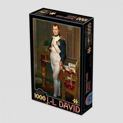 """Puzzle de 1000 pièces """"Napoléon dans son cabinet de travail, 1812"""" d'après David"""