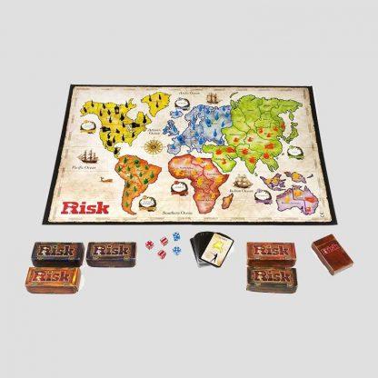 Jeu de stratégie Risk - Tout le contenu de la boîte