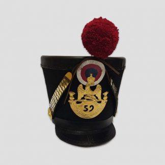 Shako de grenadier d'infanterie de ligne, 1815