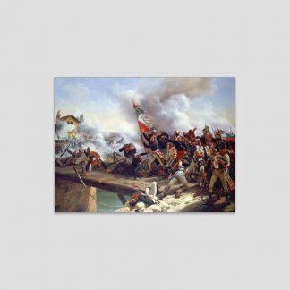 La bataille du pont d'Arcole - Oeuvre d'Horace Vernet