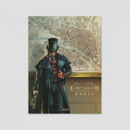 BD L'Empereur de Paris par Eric Besnard et Fabrizio Fiorentino