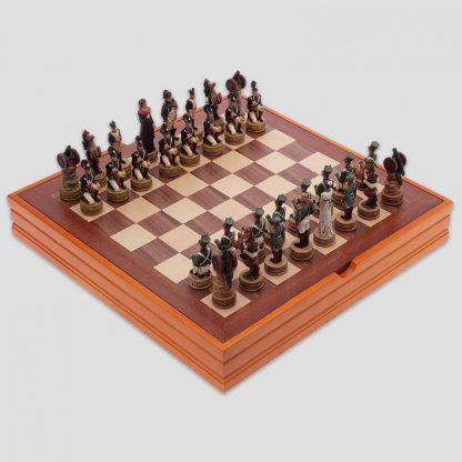 Jeu d'échecs spécial campagne de Russie 1812 - Editions Dusserre