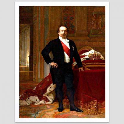 Portrait de l'empereur Napoléon III - Cabanel - 1865