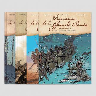 BD - Souvenirs de la Grande Armée - L'intégrale en 4 tomes