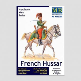Figurine 1/32 hussard français Masterbox